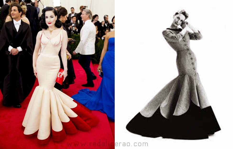 MET Gala 2014, Met Gala, Charles James, New Fashion, Latest Trends, Latest Fashion, Beyond Fashion, Fashion, Designers, Designer Clothes, Fashion Blogger of Pakistan, Dita Von Teese, Zac Posen, Fashion online, Dress, Clothing
