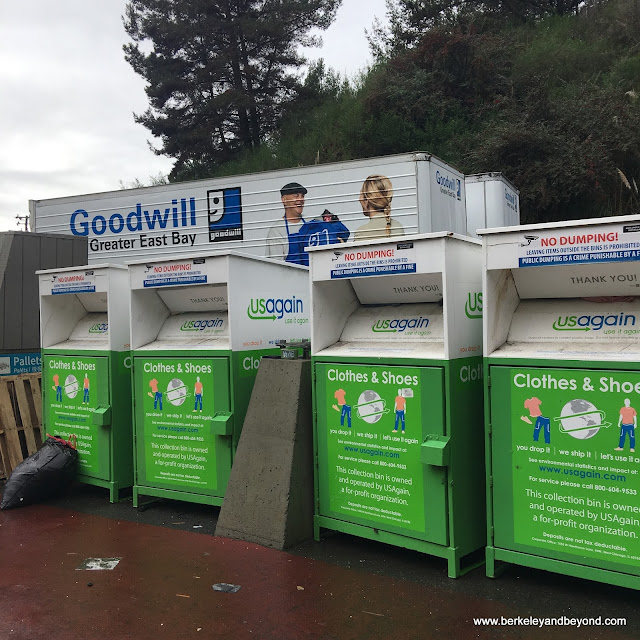 Goodwill collection station at El Cerrito Recycling Center in El Cerrito, California