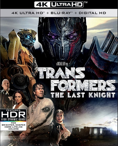 Transformers: The Last Knight 4K (Transformers: El Último Caballero 4K) (2017) 2160p 4K UltraHD HDR BDRip 23GB mkv Dual Audio DTS-HD 7.1 ch