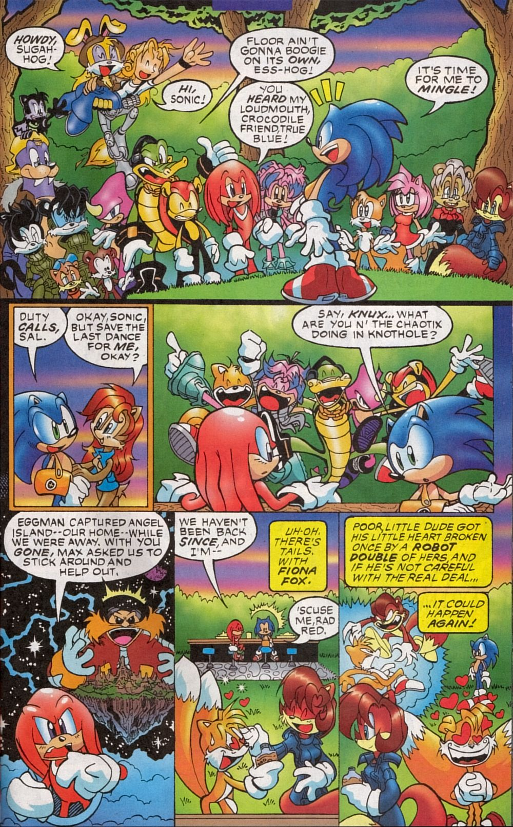 Read online Sonic The Hedgehog comic -  Issue #134 - 17