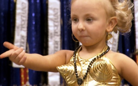 Reality TV Toddlers and Tiaras Madonna cone bra