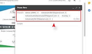 Cara Mengirim Email Kebanyak Penerima Sekaligus