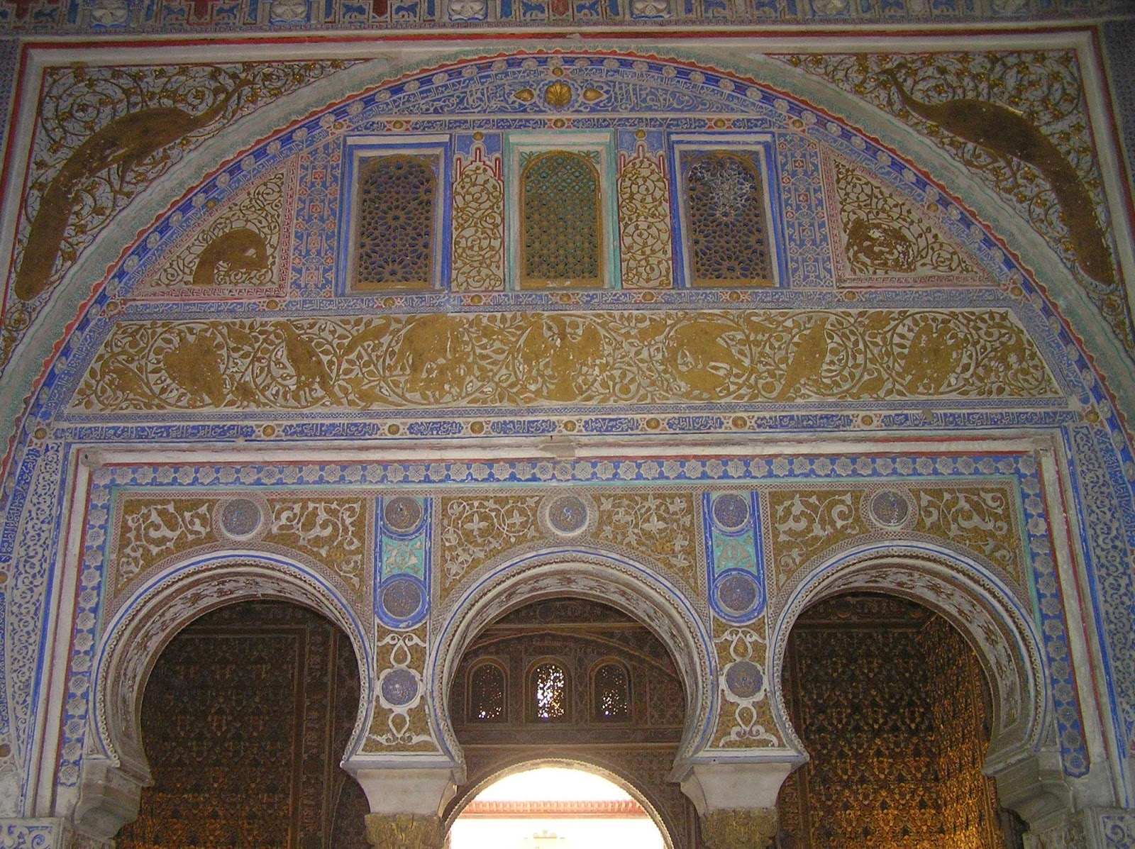 Salón de los Embajadores. Alcázar de Sevilla.