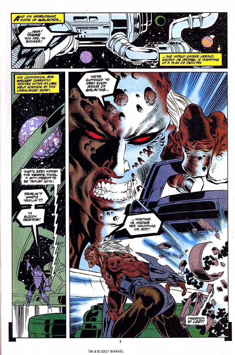 Silver Surfer (1987) Issue #108 #116 - English 9