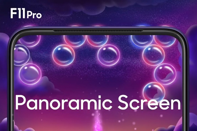 OPPO F11 Pro to Sport 90.9% Screen-to-Body Ratio