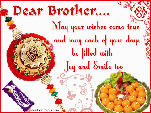 Raksha bandhan Wishes For brothers