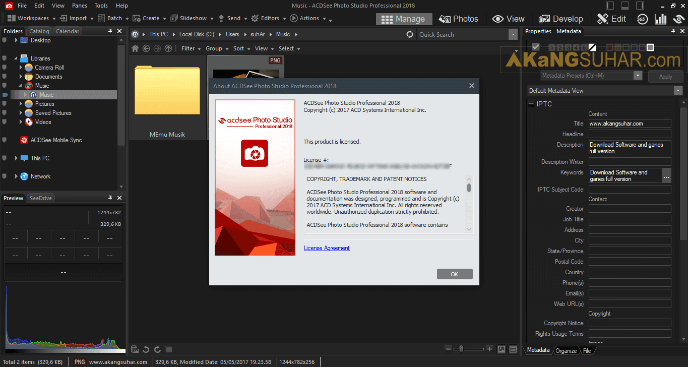 Free download ACDSee Pro 2018 latest version gratis crack serial number keygen patch activation key code license activation. Professional.