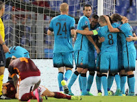 Hasil AS Roma vs Barcelona Liga Champion Tadi Malam