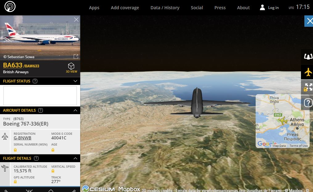 Xarths Aeroplanwn Live Pragmatikoy Xronoy Air Traffic Airplanes