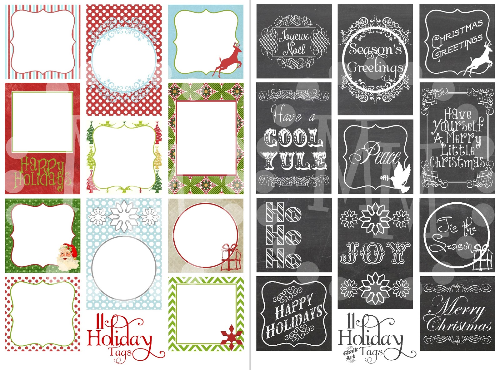 Christmas Tags: Top 10 Projects Of 2012!