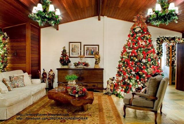 cmo decorar la sala en navidad living christmas natal by