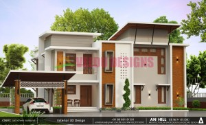 2500 Sq Feet kerala House design