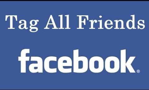 طريقة عمل الاشارة لجميع الاصدقاء على الفيس بوك بضغطة واحدة وبدون حظر