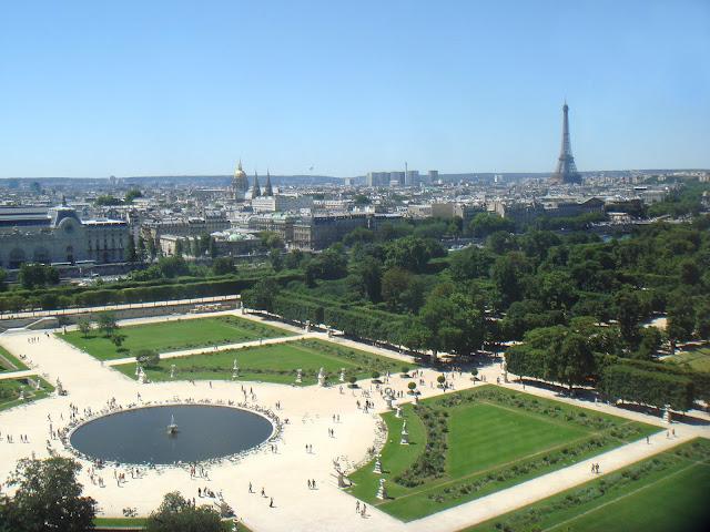 Jardim das Tulherias, Paris