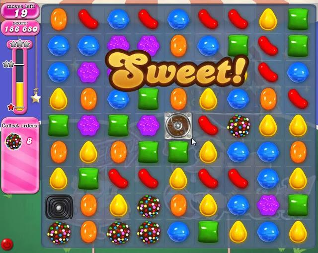 Game Candy Crush Saga được yêu thích trong cộng đồng giới trẻ