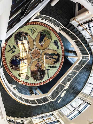 he Grohmann Museum - Floor Mosaic