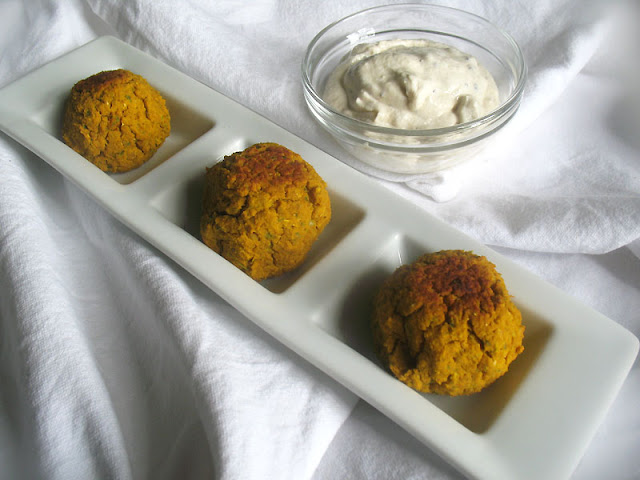 Sweet Potato Falafel