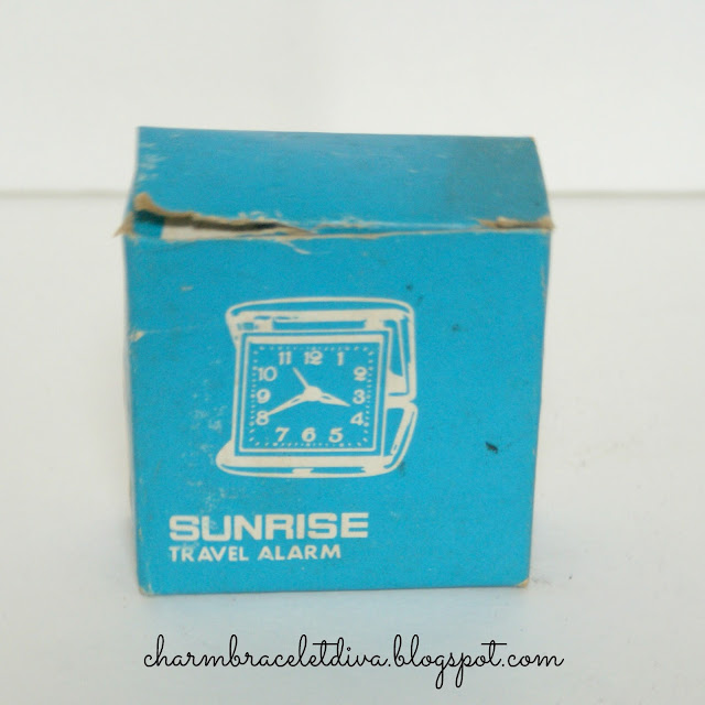 vintage Sunrise travel alarm