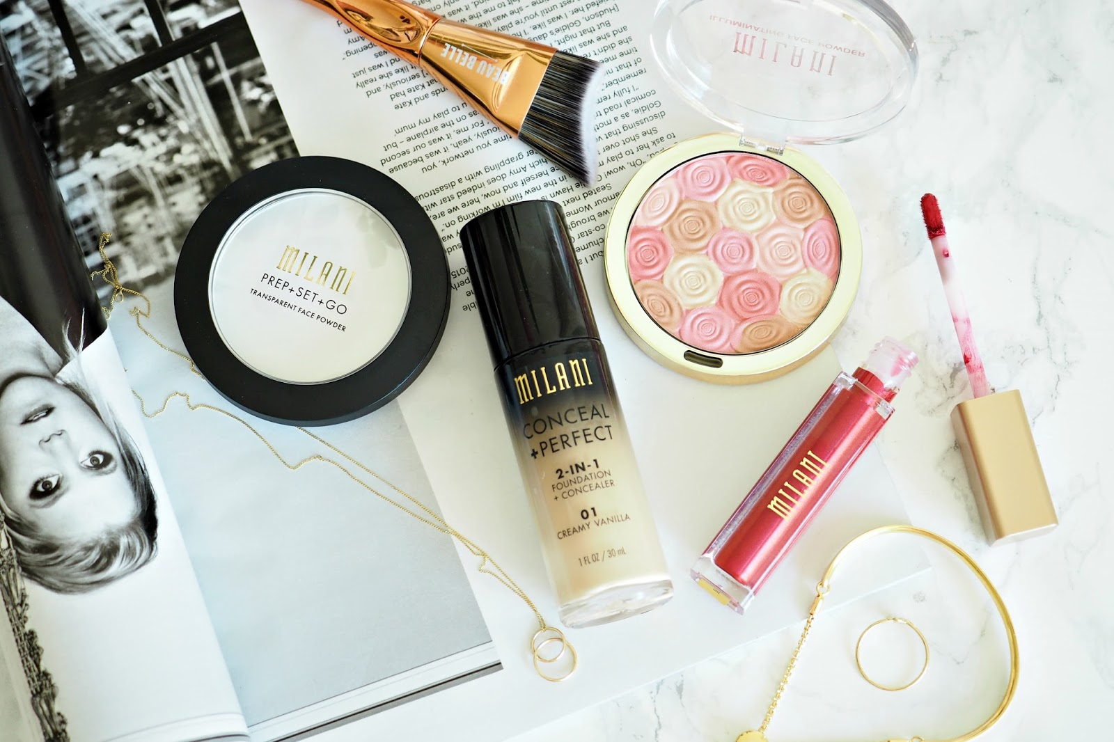 Milani makeup haul