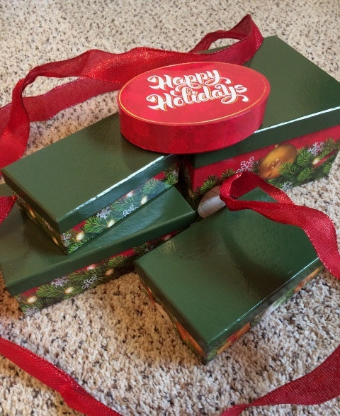 Happy Birthday Gift Tower By Gourmetgiftbaskets Com: Giveaway! Happy Holidays Gift Tower