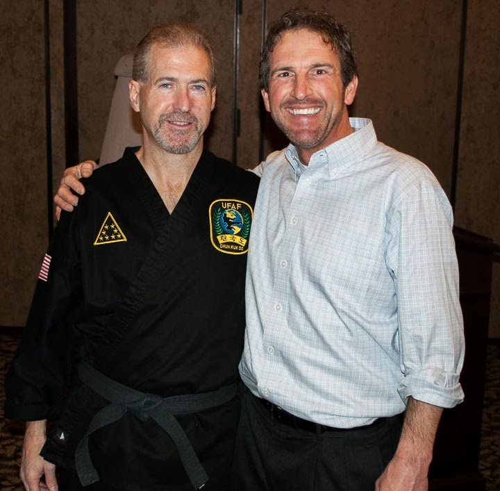 motivational speaker and Chuck Norris' Business manager, Reggie Cochran