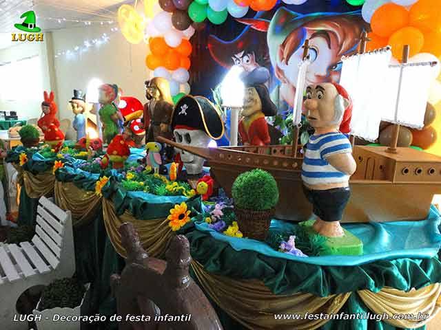 Ornamentação de mesa infantil Peter Pan
