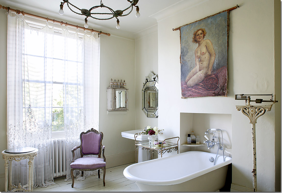 Vasca da bagno & co Shabby Chic Interiors