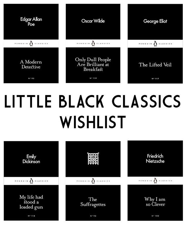 Little Black Classics Wishlist