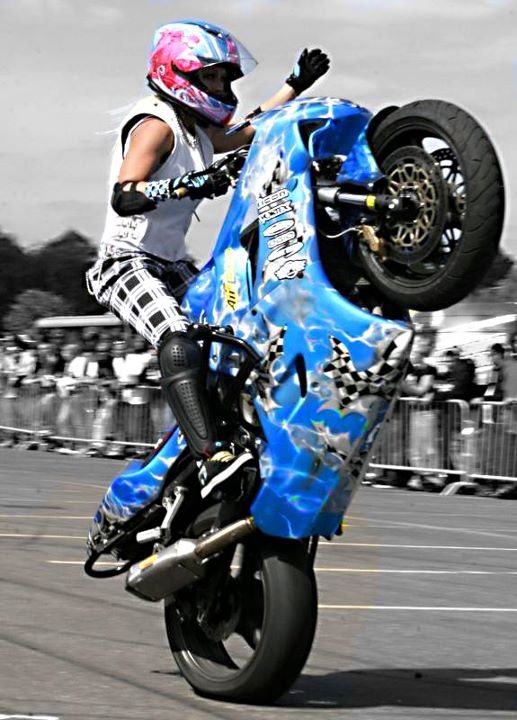 2012 female rider wallpapper  motor modif contest  trend