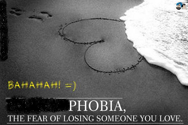 ketakutan kehilangan orang yang disayang
