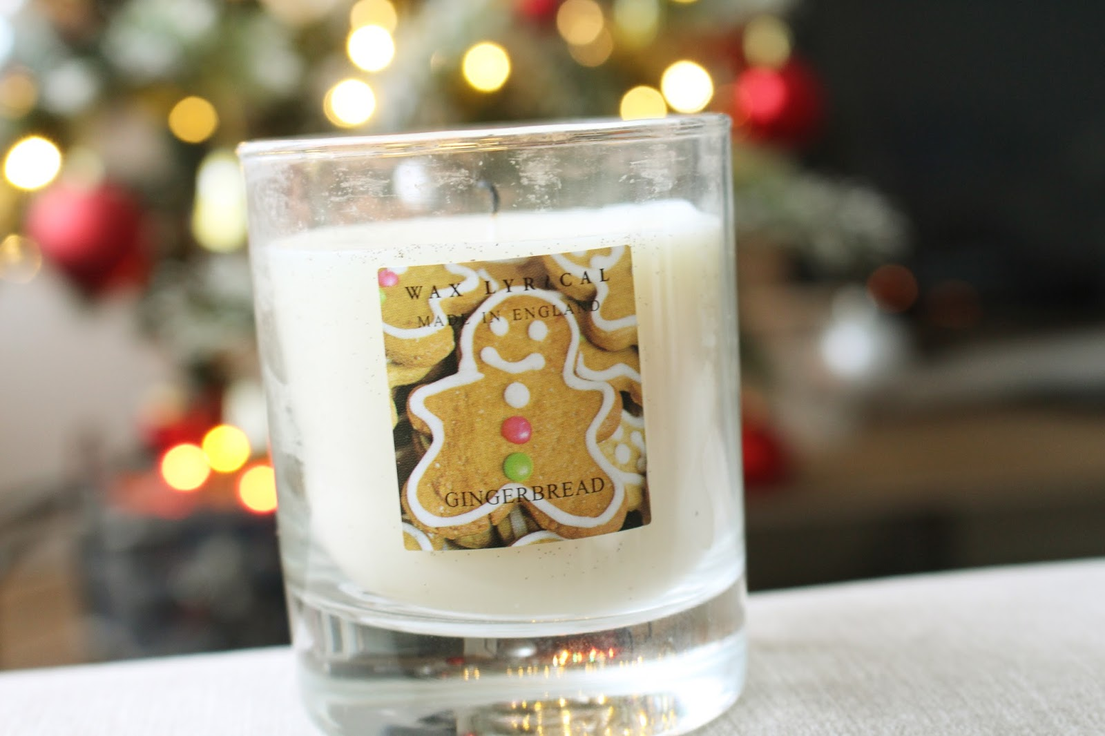 Asda Wax Lyrical Gingerbread Candle
