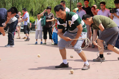 Chinese Spinning Top Competition Team
