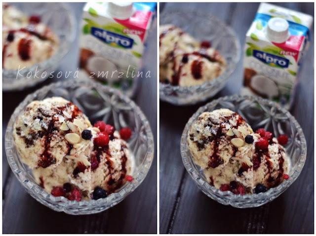 domácí alpro smetanová zmrzlina