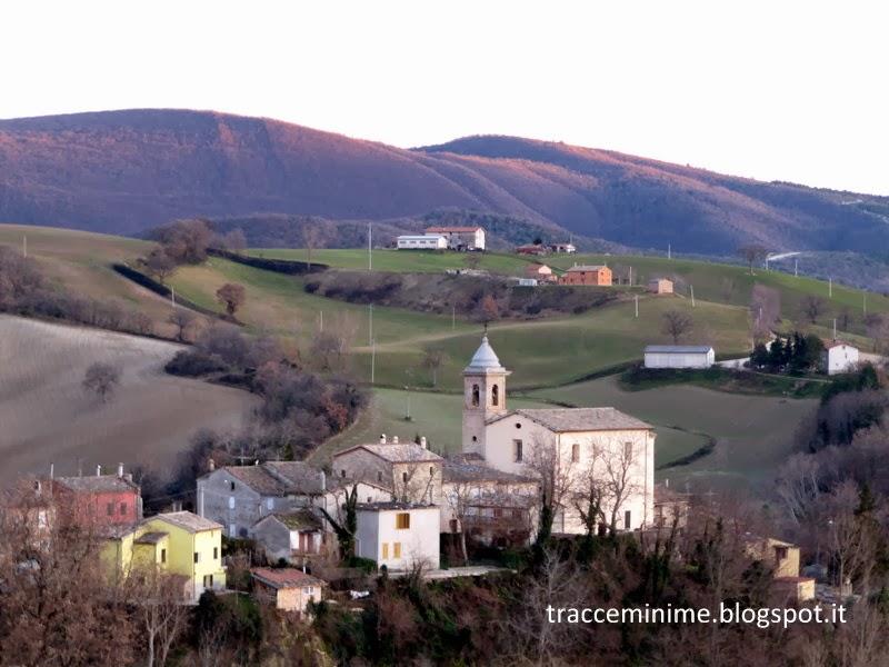 Castel Sant'Angelo, frazione di Cingoli (MC)