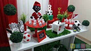Decoração festa infantil Sport Club Internacional Porto Alegre