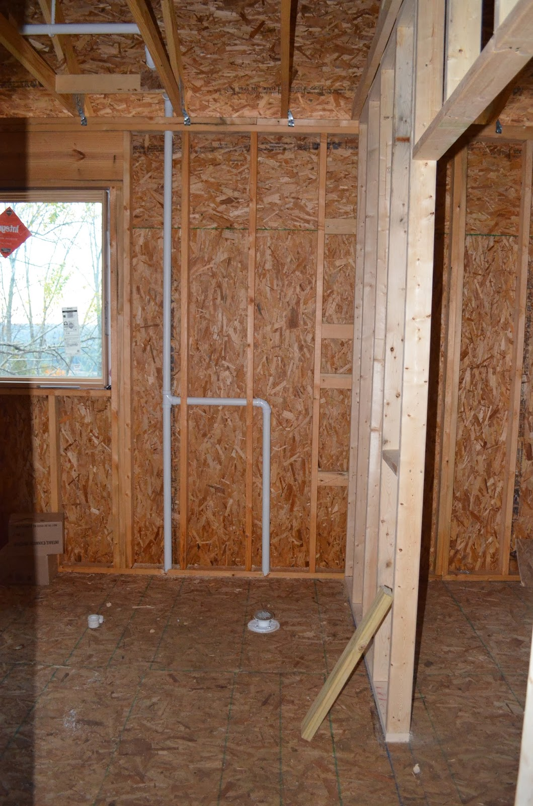 Schweitzers Build A House 10 16 Rough In Plumbing And
