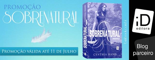 Resultado | Promo: #Sobrenatural, da autora Cynthia Hand. 7