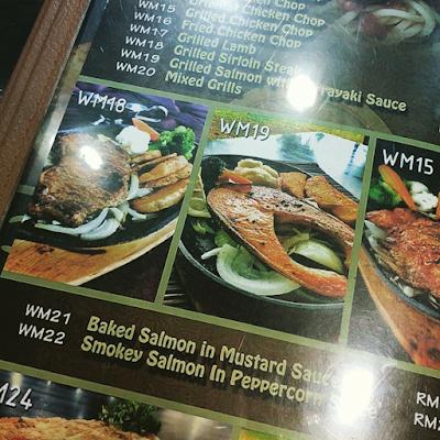 menu restoran bukit