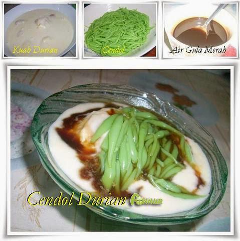 cendol-durian