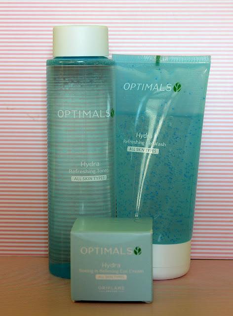Optimals Hydra от Oriflame обзор и розыгрыш подарка