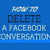 Facebook Delete Conversation Updated 2019