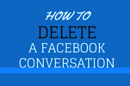 How To Clear Facebook Chat and Conversation