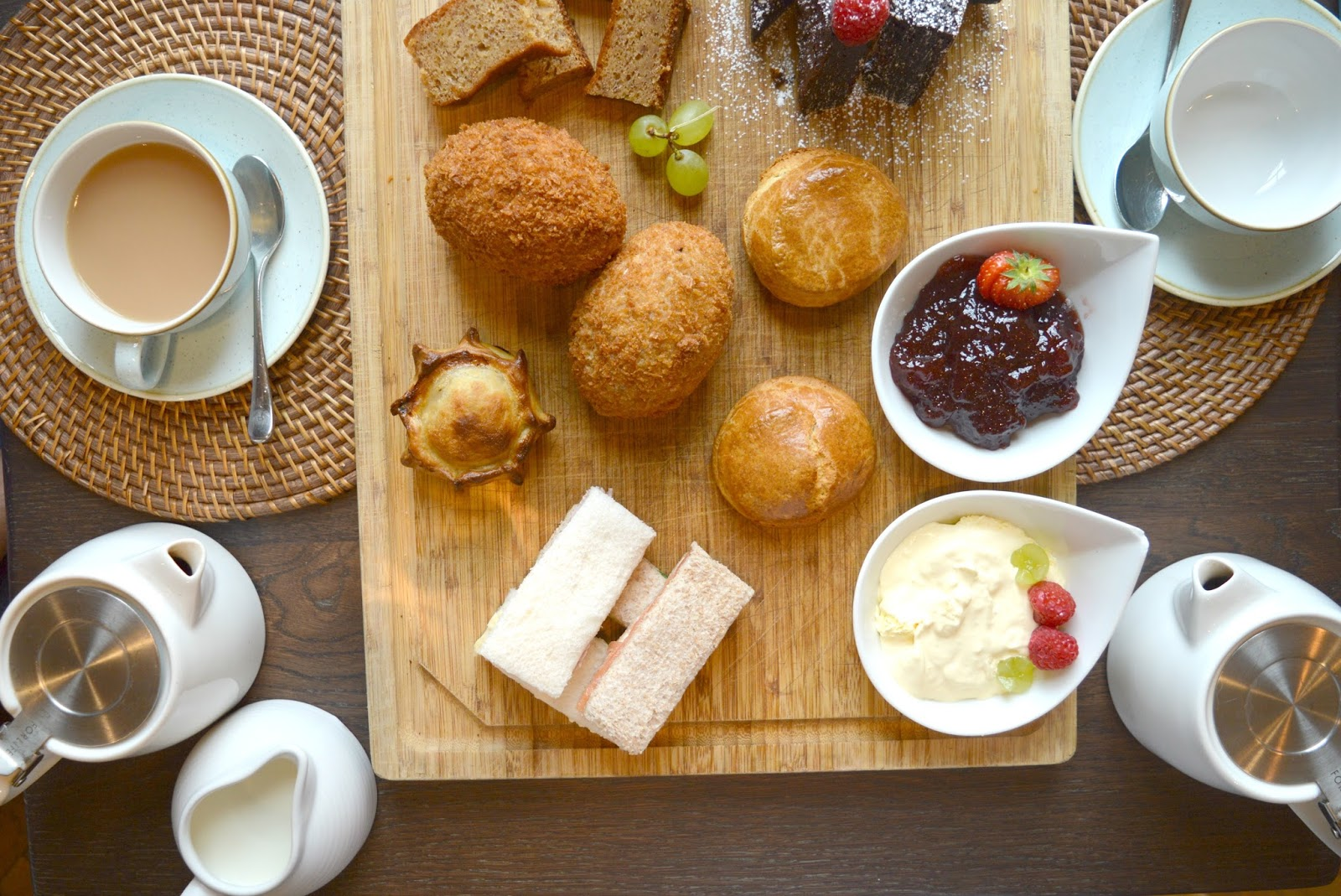 Afternoon Tea at The Painswick Hotel  Cotswolds
