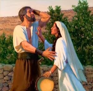 Jefté cumpriu seu voto