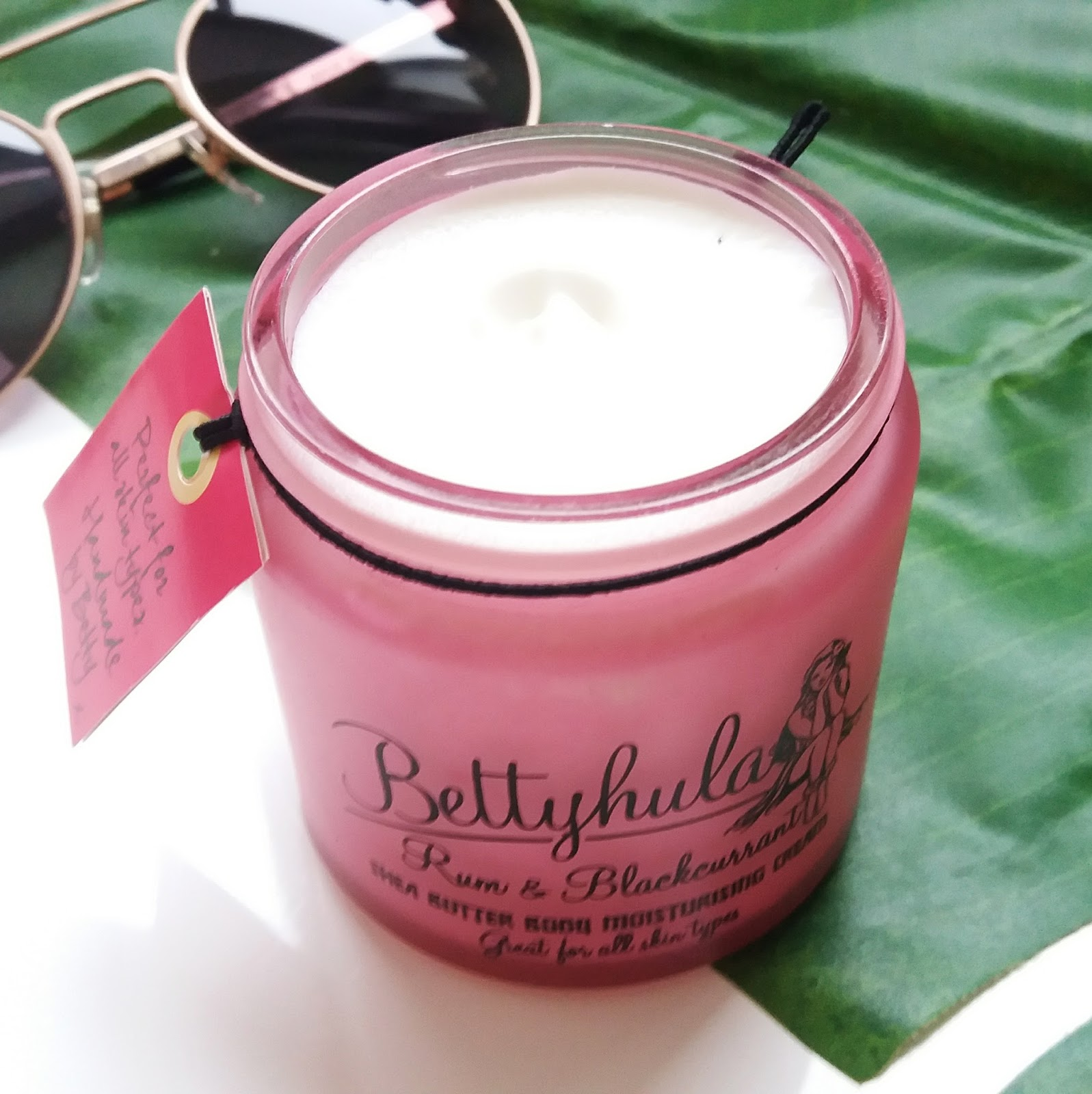 Betty Hula Body Moisturiser in Rum and Blackcurrant