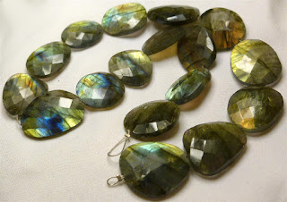 labradorite slices