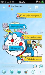 BBM Doraemon Versi 2.9.0.51 Terbaru