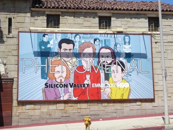 Silicon Valley Phenomenal 2017 Emmy FYC billboard