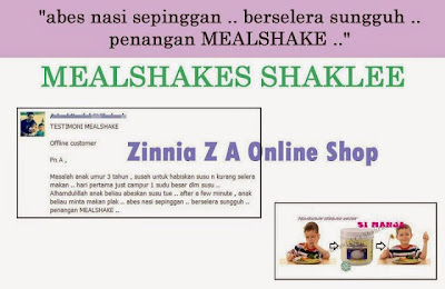 testimoni meal shakes
