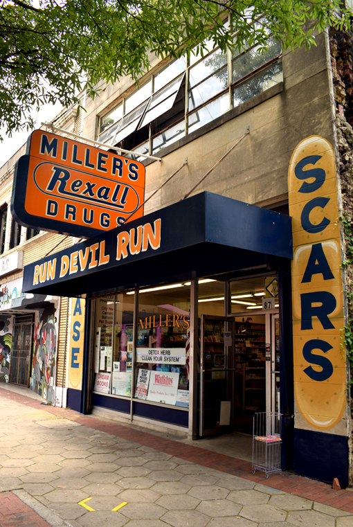 Movie Site Miller's Rexall | Atlanta Movie Tours | Photo: Travis S. Taylor